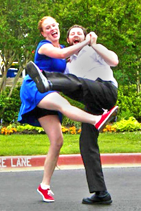 Shawna and Mike Westervelt, Lindy Hop and Swing Dance teachers